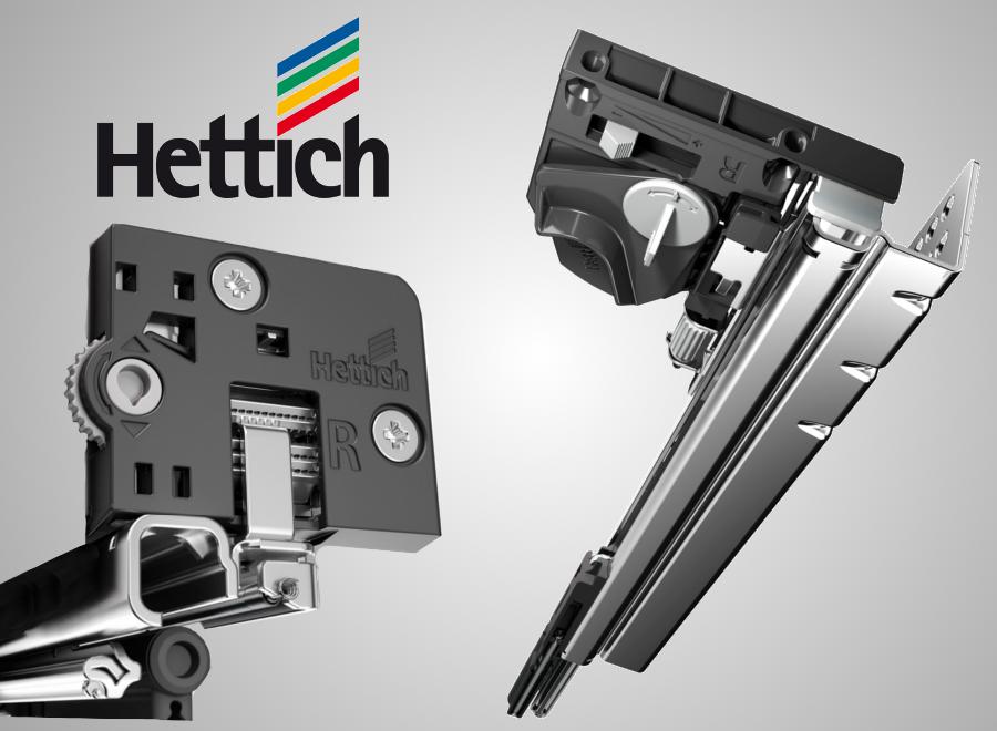 Guide per cassetti Hettich Quadro 4D